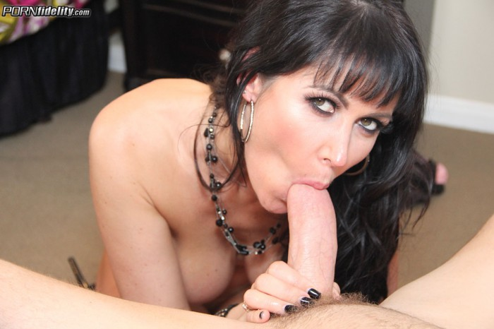 Eva Karera Sucking His Cock